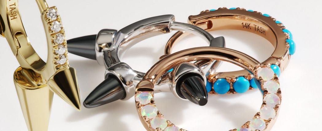 maria tash la puce l oreille bijoux cailloux. Black Bedroom Furniture Sets. Home Design Ideas